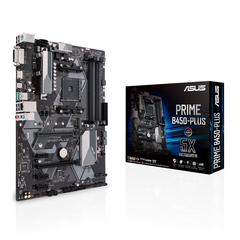 asus prime b450plus ddr4 atx am4