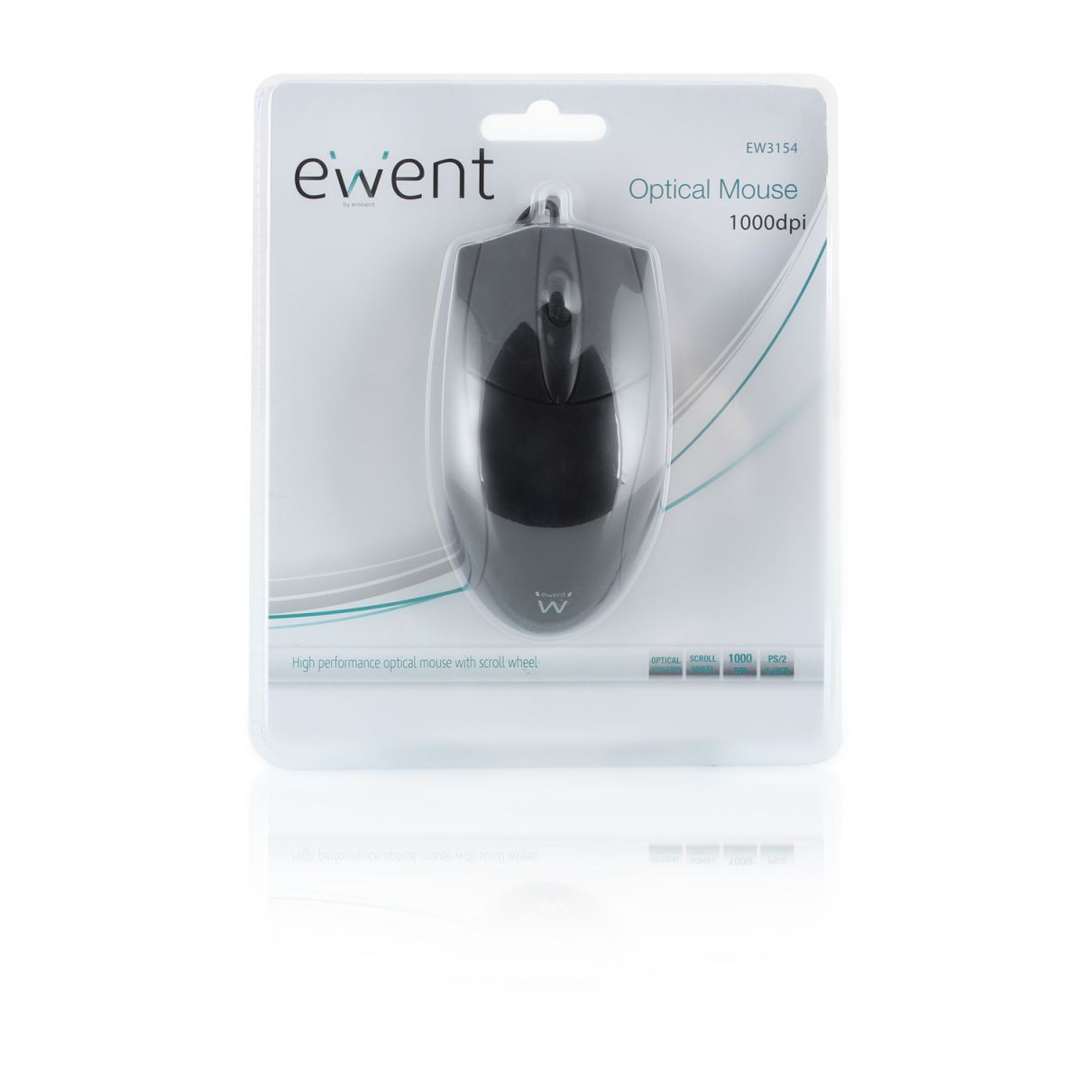 ewent ew3154 optical mouse usb ps2