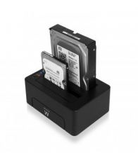 "Ewent EW7014 USB 3.1 Dual Docking Station 2.5""/3.5"" SATA"