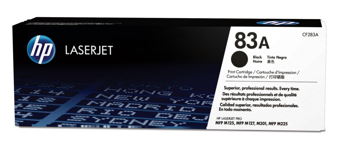 hp 83a cf283a toner cartridge zwart