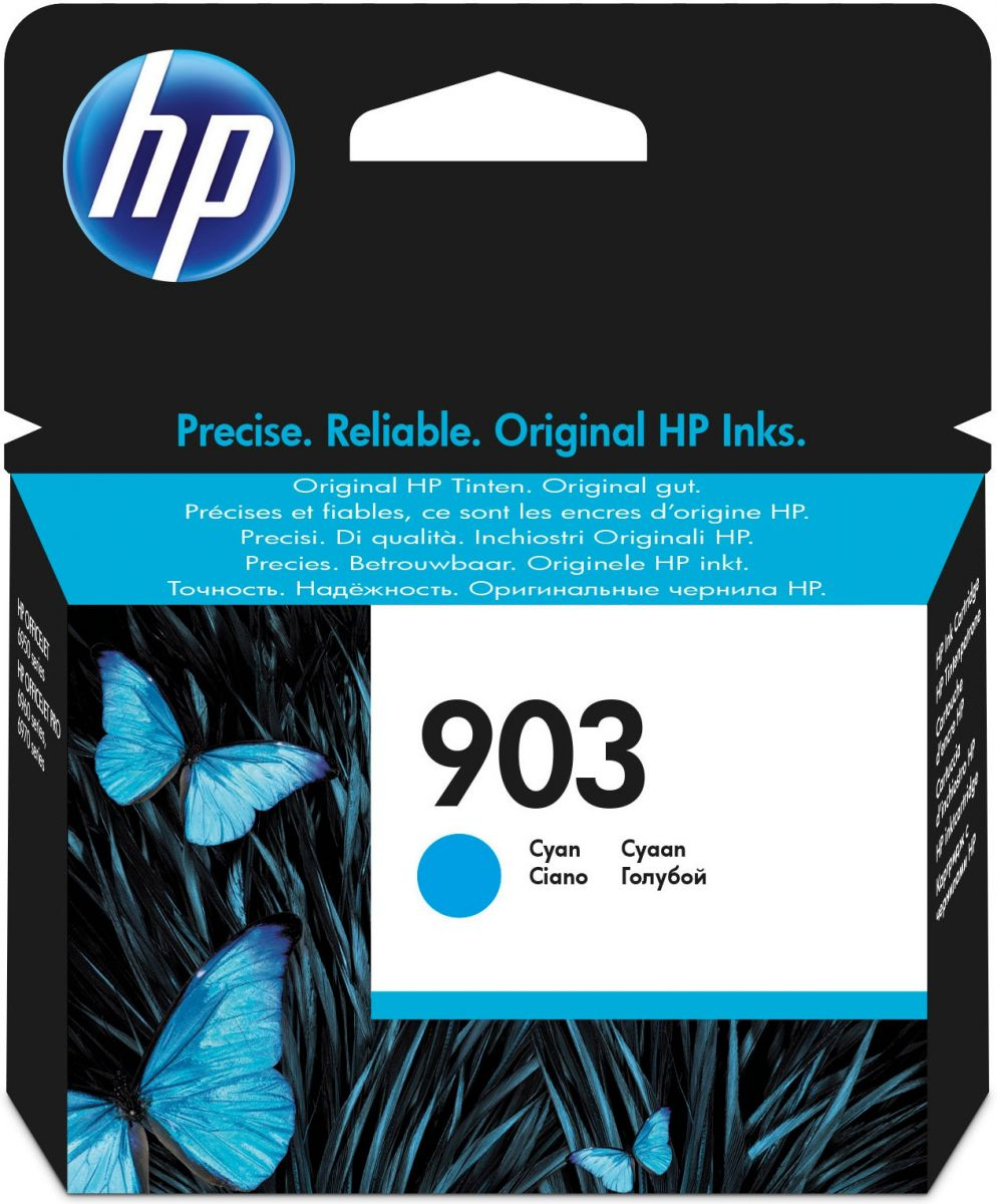 hp 903 inktcartridge cyaan