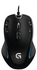 Logitech G300S Optical Gaming Mouse black 2500dpi USB