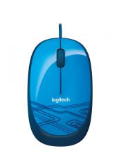 Logitech M105 mouse optical blue USB