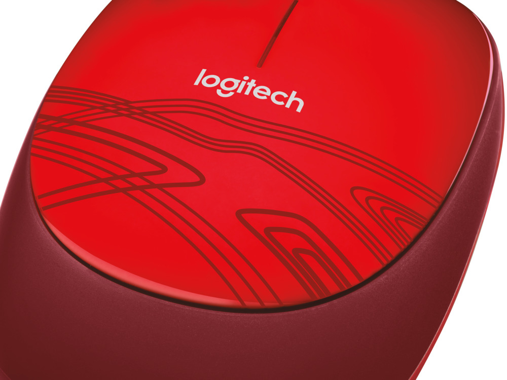 logitech m105 mouse optical red usb