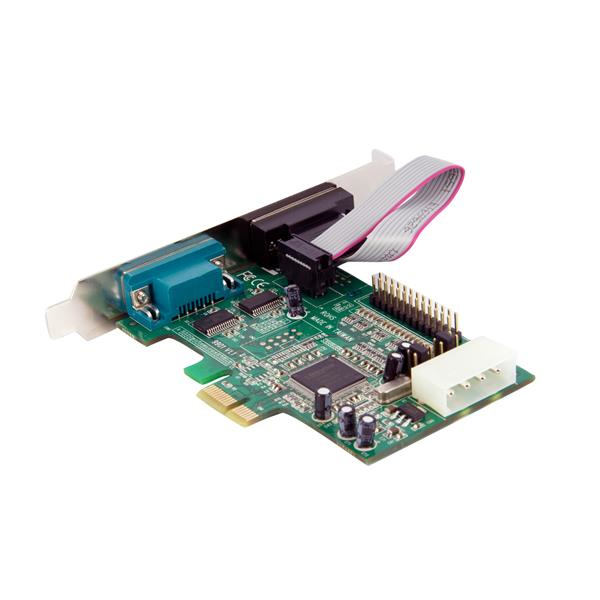 startech 2s1p parallel serial combo card 16550 uart pcie
